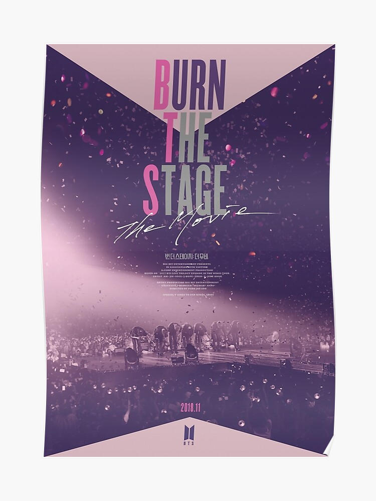 BTS - BURN THE STAGE - THE MOVIE | Poster