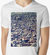 #landscape #nature #tree #season #outdoors #leaf #wood #flower #environment #field #sky #agriculture #horizontal #colorimage #plant #nopeople #autumn #day #ruralscene #scenicsnature #nonurbanscene Men's V-Neck T-Shirt