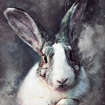 Rabbit Bunny art #rabbit #bunny #animals by JBJart