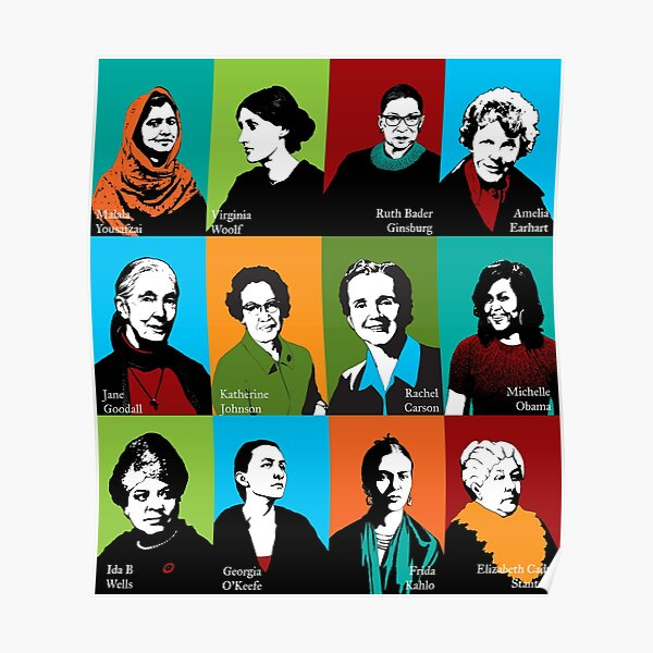 Feminist Icons Poster