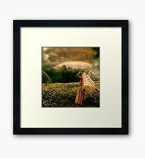 Prophetic Rays Framed Print