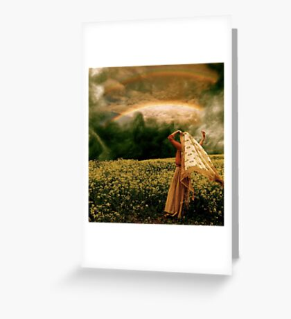 Prophetic Rays Greeting Card