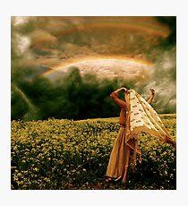 Prophetic Rays Photographic Print