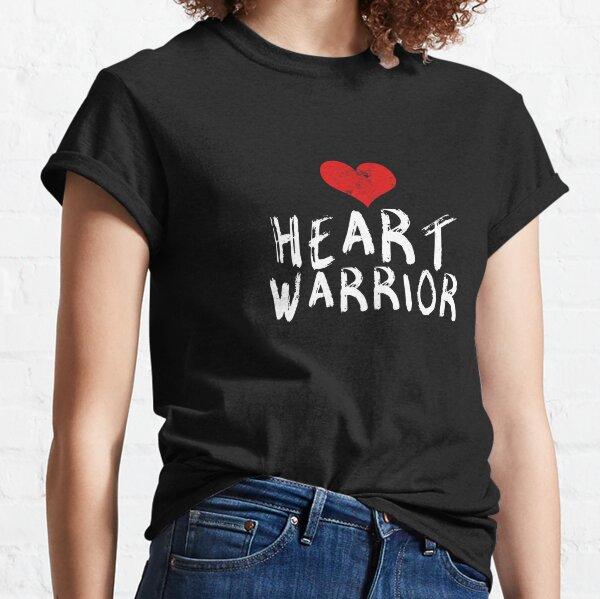 Camisa linda del superviviente de la cirugía del corazón de la recuperación de CHD del guerrero del corazón Camiseta clásica