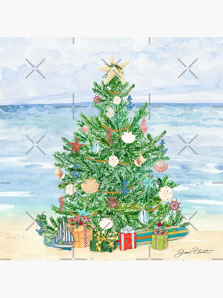 Coastal Christmas B by Jeanplout