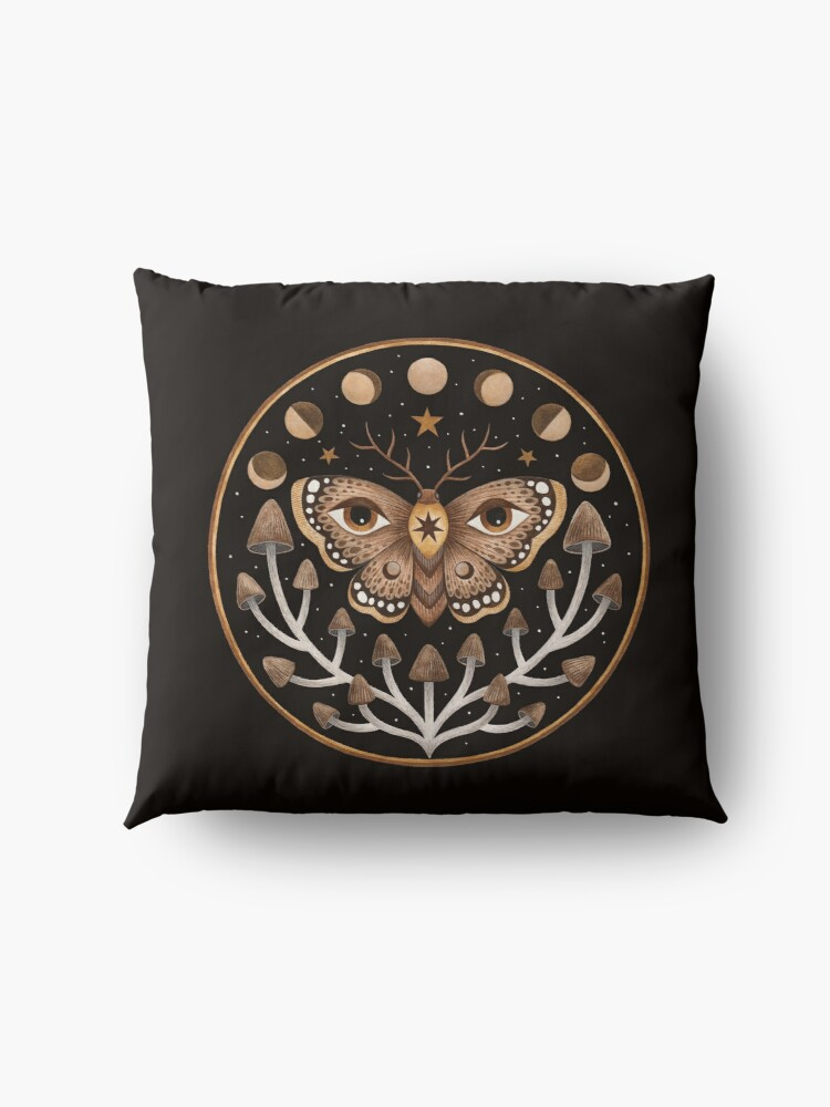 Alternate view of Forest visions Floor Pillow