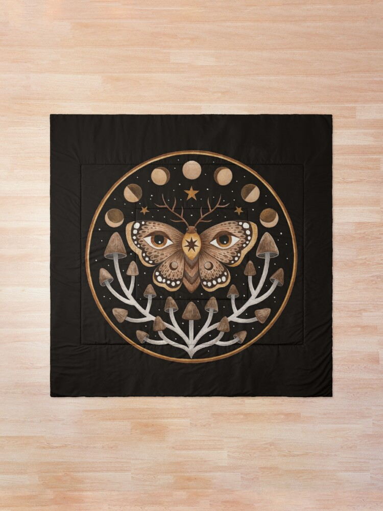 Alternate view of Forest visions Comforter