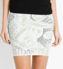 DOWNHILL SKATEBOARD DIVISION      T-SHIRT Mini Skirt