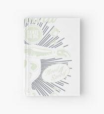 DOWNHILL SKATEBOARD DIVISION      T-SHIRT Hardcover Journal