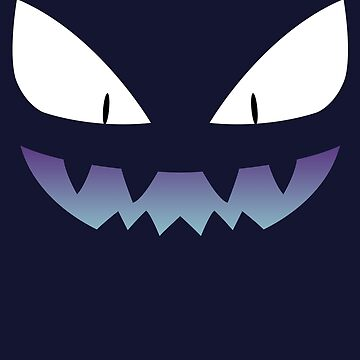 Pokemon - Haunter / Ghost (Shiny) by zefiru