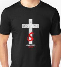 Cool Jesus Saves I Spend Christianity God Christian T-Shirt Unisex T-Shirt