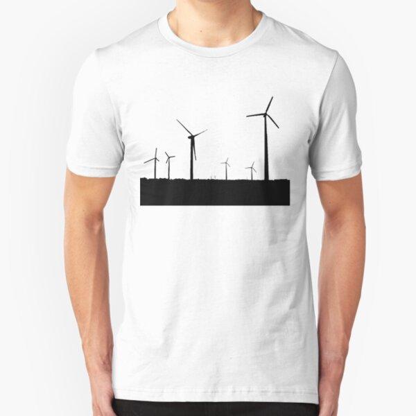 Wind Turbine Slim Fit T-Shirt