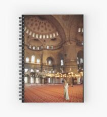 Woman of the Mosque Spiral Notebook