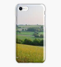 a desolate Belgium landscape iPhone Case/Skin