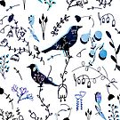 Chinoiserie White BluePaint #homedecor by susycosta
