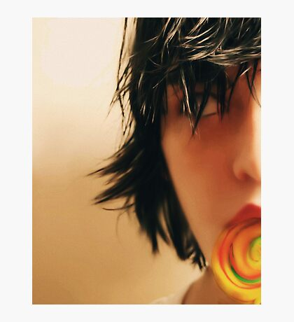 LoLLiPoP Girl Series - Take 4 Photographic Print