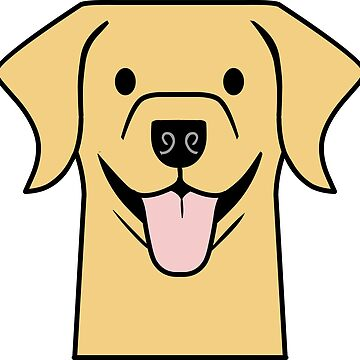 Yellow Lab decal sticker by smooshfaceutd