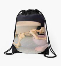 Obsessive Bulimic Drawstring Bag