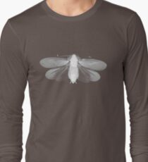 White Moth Long Sleeve T-Shirt