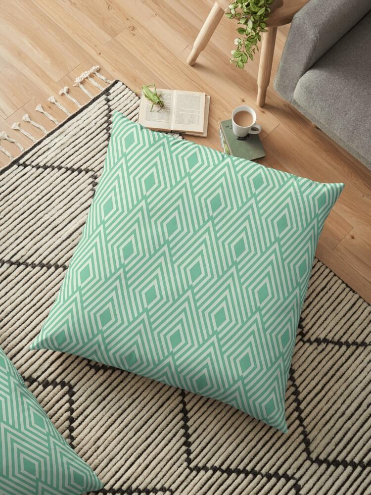 Art deco pattern,shell,pattern,green,white,1920 era, elegant,chic,modern,trendy by love999