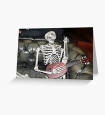 Zombie IPhone case Greeting Card