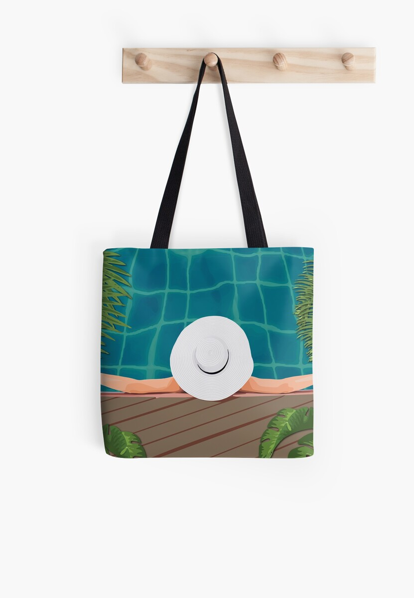 Pool and hat by agacha