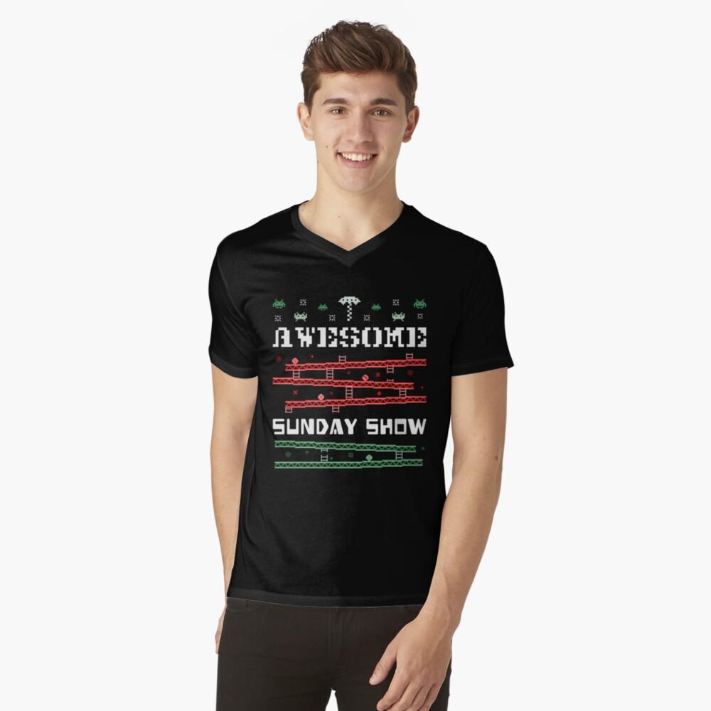 Ugly Christmas Sweater V-Neck T-Shirt