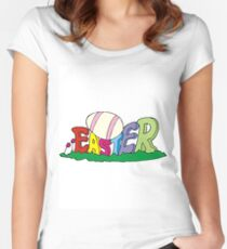Easter Women's Fitted Scoop T-Shirt