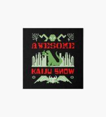 Awesome Kaiju Show Art Board