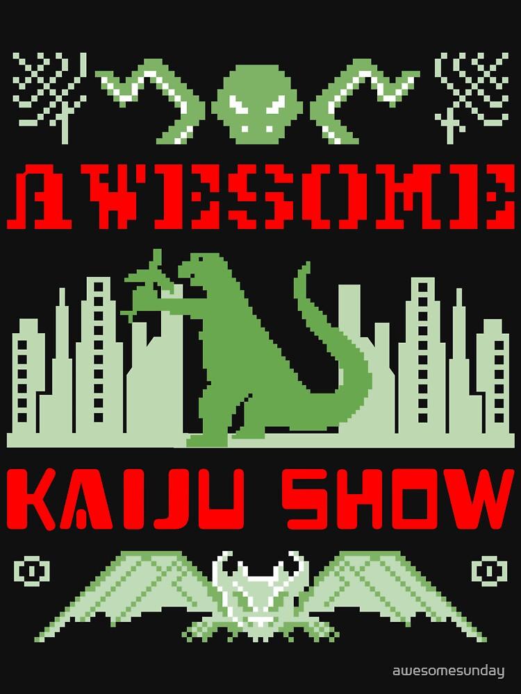 Awesome Kaiju Show by awesomesunday