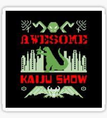 Awesome Kaiju Show Sticker