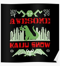 Awesome Kaiju Show Poster