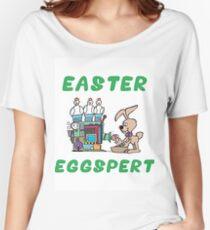 """Happy Easter """"Easter Eggspert"""" Women's Relaxed Fit T-Shirt"""