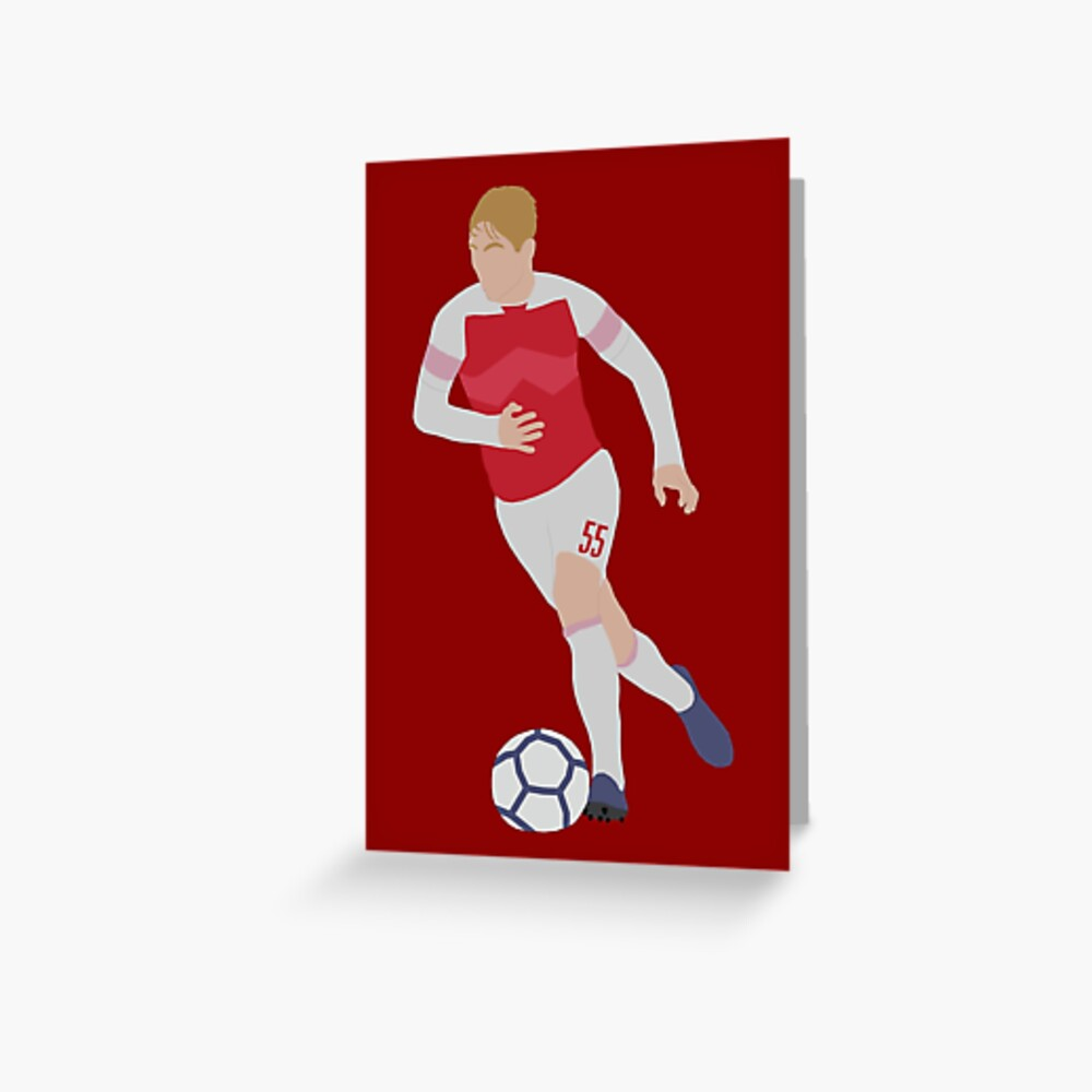 Emile Smith Rowe Greeting Card By Patormsby17 Redbubble