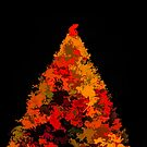 Autumn Christmas Tree by Joe Lach