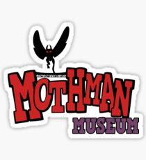 Mothman Museum Sticker