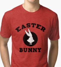 Funny Easter Bunny Women's Tri-blend T-Shirt