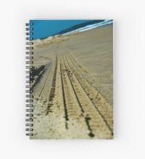 Beach Scene 4 Spiral Notebook