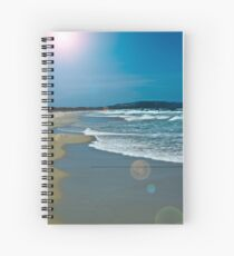 Beach Scene 6 Spiral Notebook