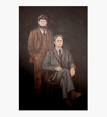Dwight And Mose Painting  Photographic Print
