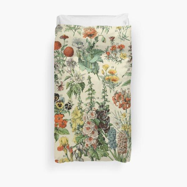Adolphe Millot Fleurs A Duvet Cover