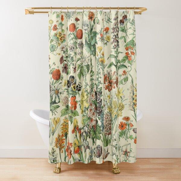 Adolphe Millot Fleurs A Shower Curtain
