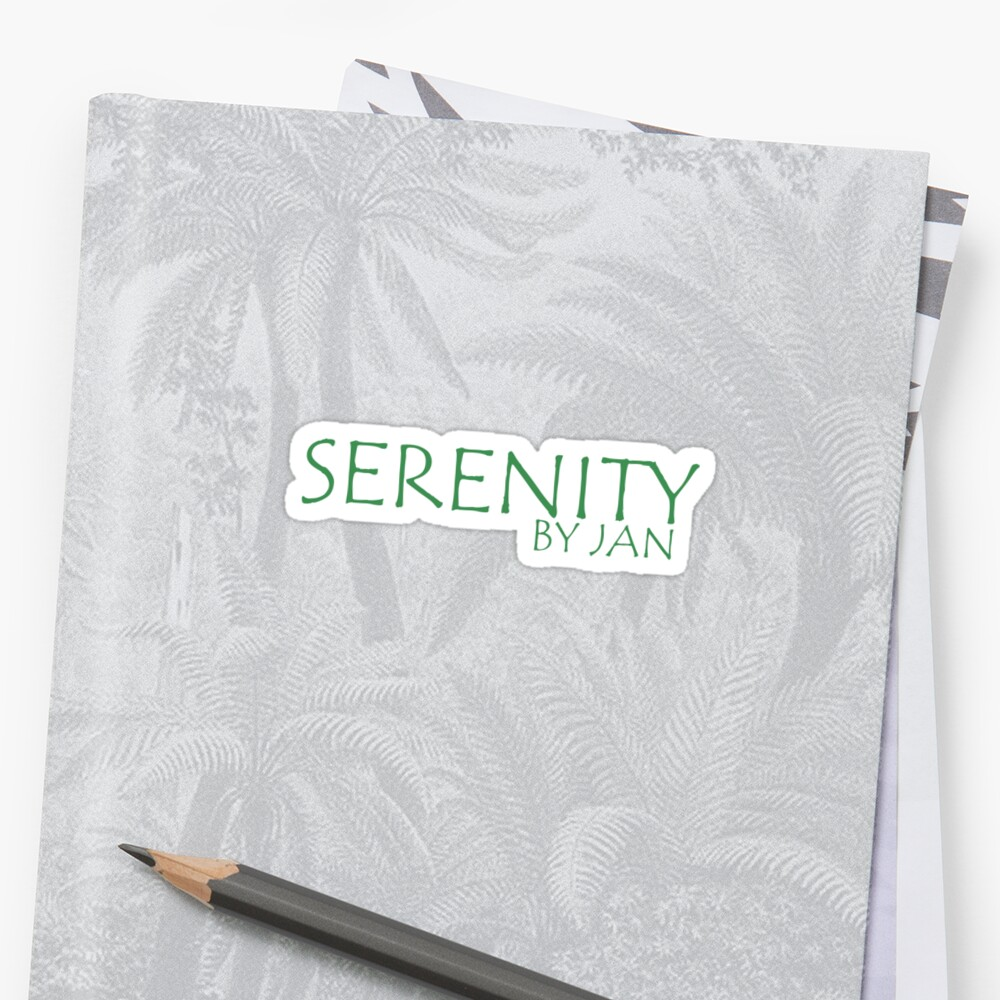 Serenity. by Jan by writenow