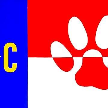NC Dog Paw  by barryknauff