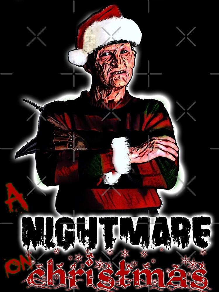 Freddy Krueger A Nightmare On Elm Street Christmas Xmas Holiday Sweatshirt Shirt