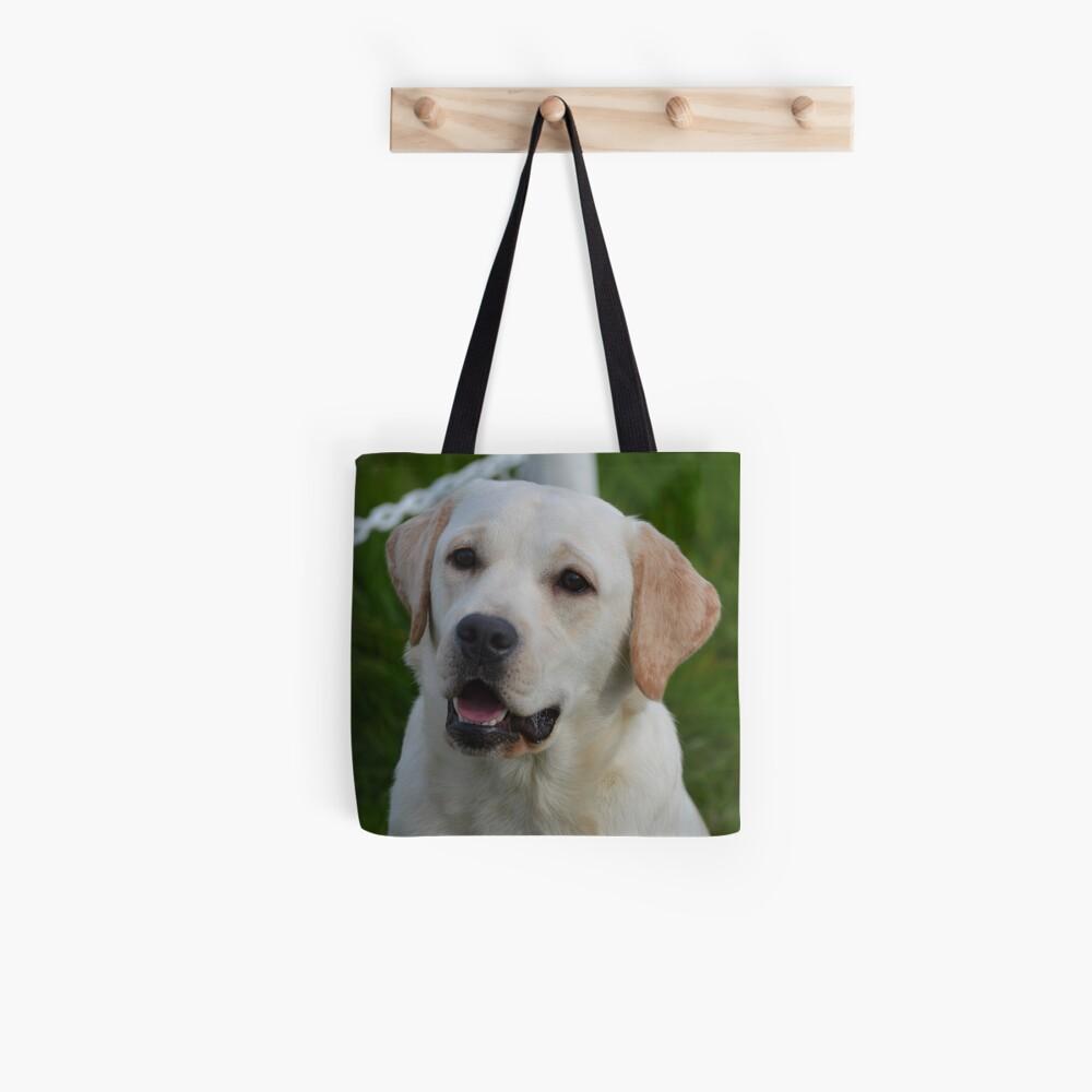 Labrador amarillo Bolsa de tela