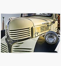 Dodge Truck on Route 66 Poster
