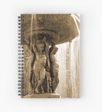 Strathcona fountain Spiral Notebook