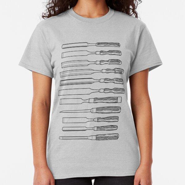Woodworking Chisels Classic T-Shirt