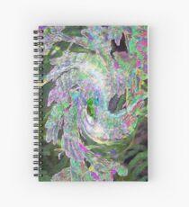Psychedelic Kokopeli Spiral Notebook